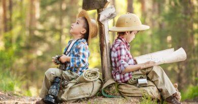 کودکان و طبیعت گردی