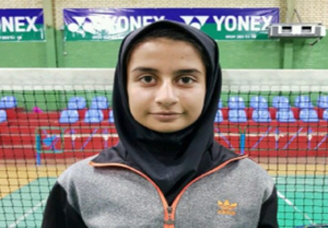 دختر بدمینتون باز شیرازی سودای المپیک در سر دارد