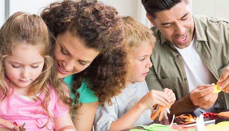 نقش والدین در پرورش فرزندان