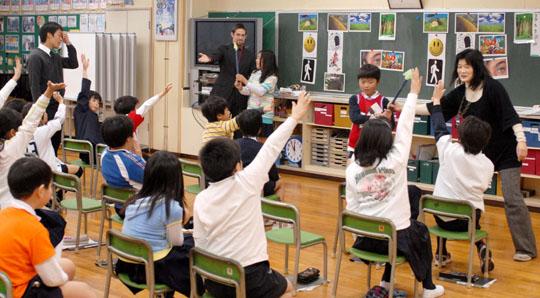 پشتیبانی آموزش و پرورش ژاپن با شهرداری هاست
