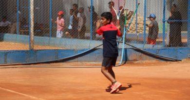 حضور نوجوان گراشی در مسابقات بیناللملی تنیس ۲۰۲۰ آسیا
