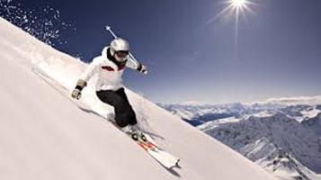 اسکی روی برف