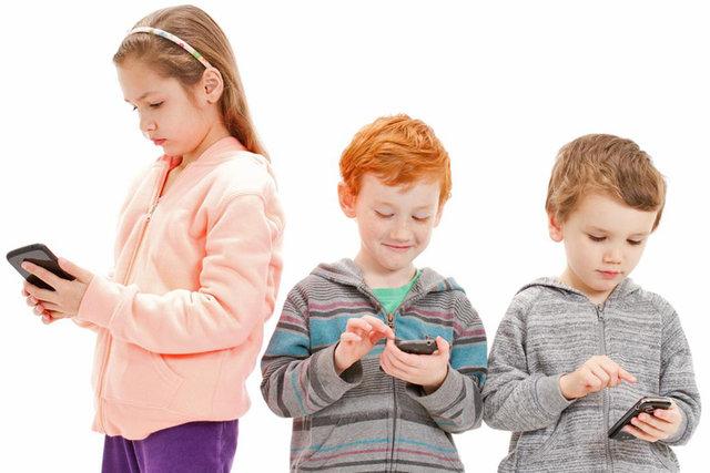 کودک و تلفن همراه