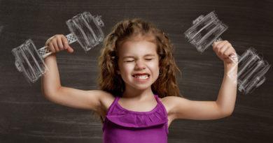 عضله سازی در کودکان