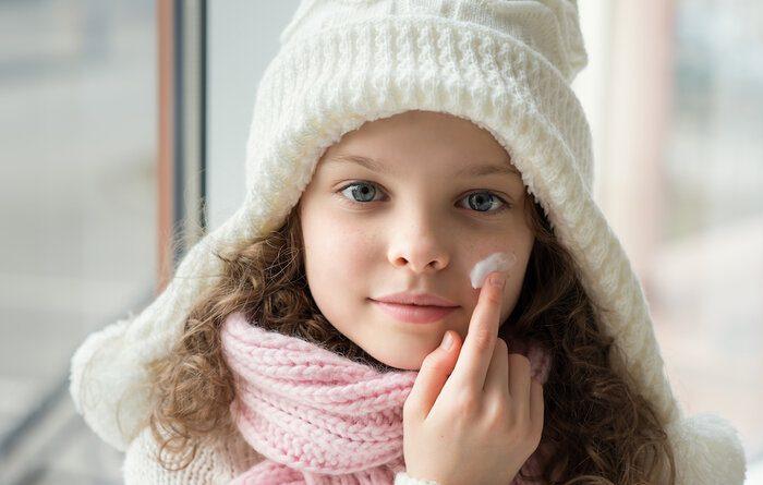 پوست سالم در سرما
